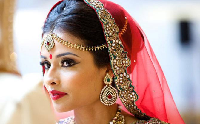 Bridal Makeup in Bari Pahari
