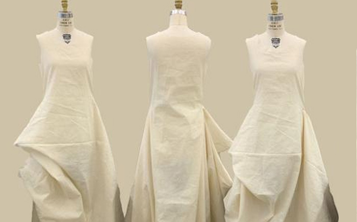 Dress draping services