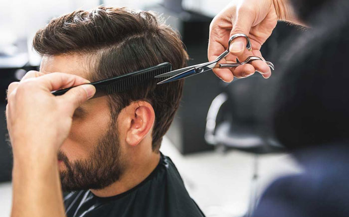 Mens Hair Styling in Anisabad