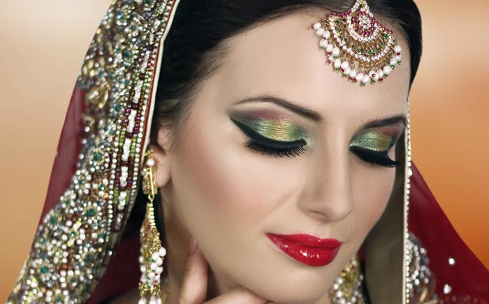 Reception Makeup in Bari Pahari
